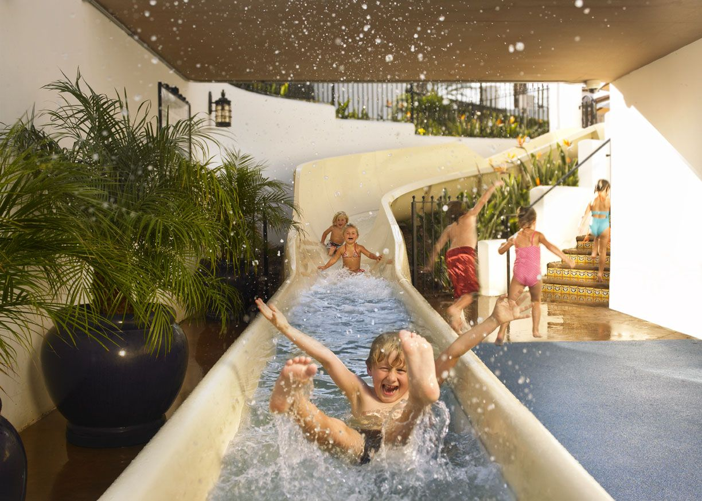 Indoor slide ooo good idea pinterest - Indoor swimming pool with slides london ...