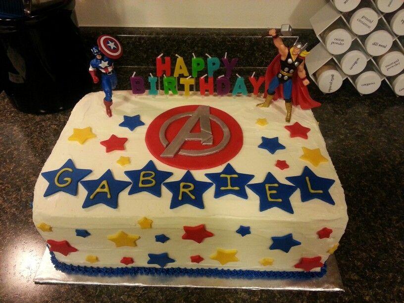 Remarkable Avengers Cake Diy Avengers Birthday Cakes Avenger Cake Captain Personalised Birthday Cards Xaembasilily Jamesorg