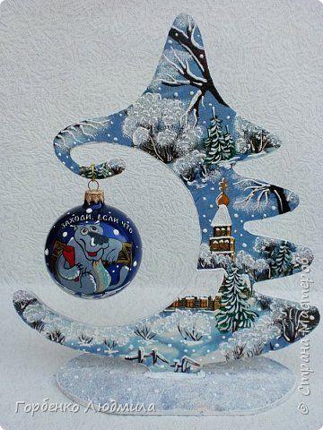 Добрый вечер,Страна! Сегодня я к Вам со своими ёлками-подвесками для новогодних шаров! Подробный мастер-класс по их изготовлению можно посмотреть здесь http://stranamasterov.ru/node/985879 Работ много,как и фотографий! фото 8