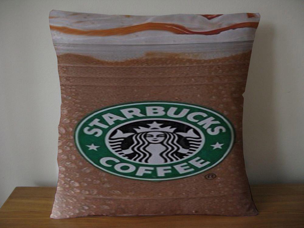 Starbucks Coffee Seatle Latte pillow