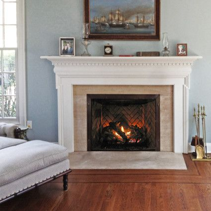 A fireplace mantel is part of your interior decoration. Description from nyfifth.com. I searched for this on bing.com/images