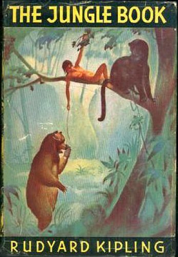 Image result for the jungle book vintage book covers