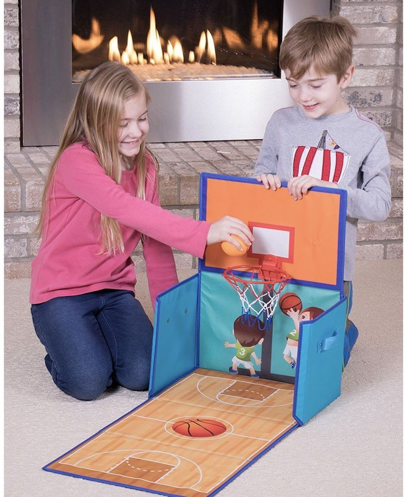 Kids Armoires Dressers Combination Basketball Hoop and Collapsible Toy Storage #CleverCreations & Kids Armoires Dressers Combination Basketball Hoop and Collapsible ...