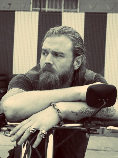 Ryan Hurst (Opie from Sons Of Anarchy) My favorite Son. He was the most like me and I understood the way he saw the world.. The good ones always go.There can only be 1 Opie. :(