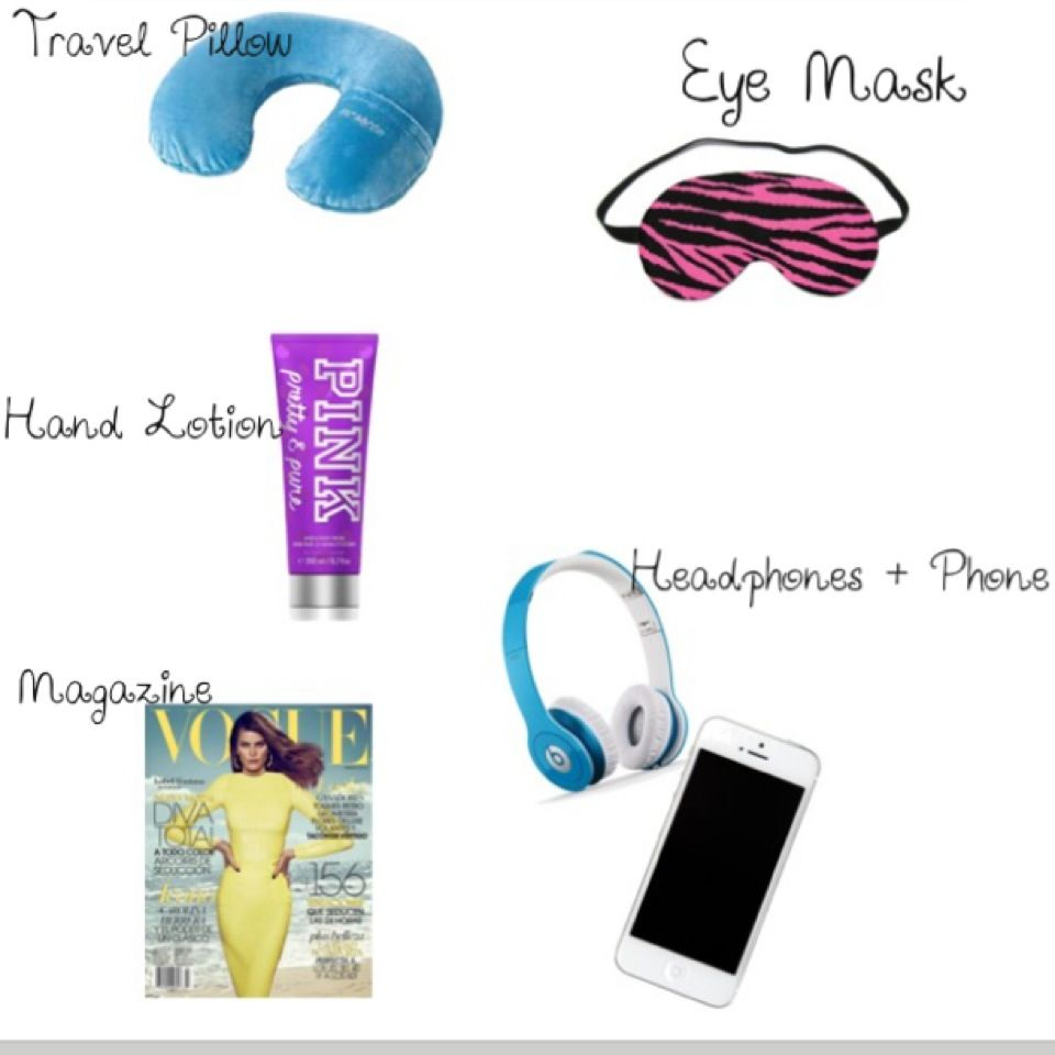 What To Bring On A Plane Ride So Helpful Since Im Going To The 8th