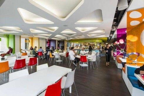 Google Canteen Interior Design Furniture Dublin Ireland
