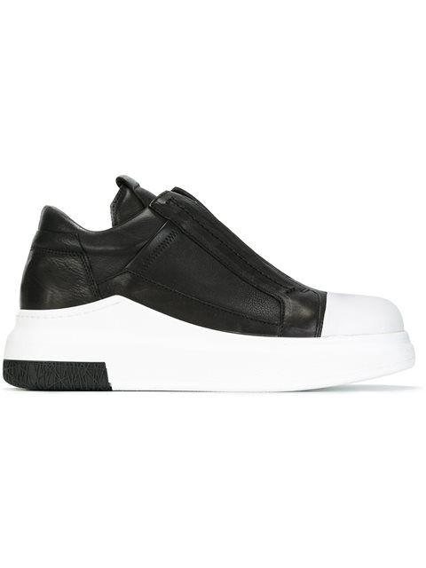 CINZIA ARAIA extended sole slip-on sneakers. #cinziaaraia #shoes #sneakers