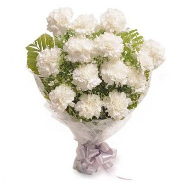 Pure White Beauty Send flowers Online