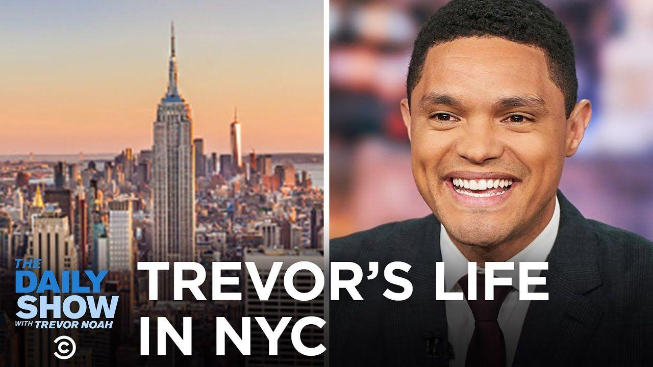 Trevor's Life in New York City Between the Scenes The