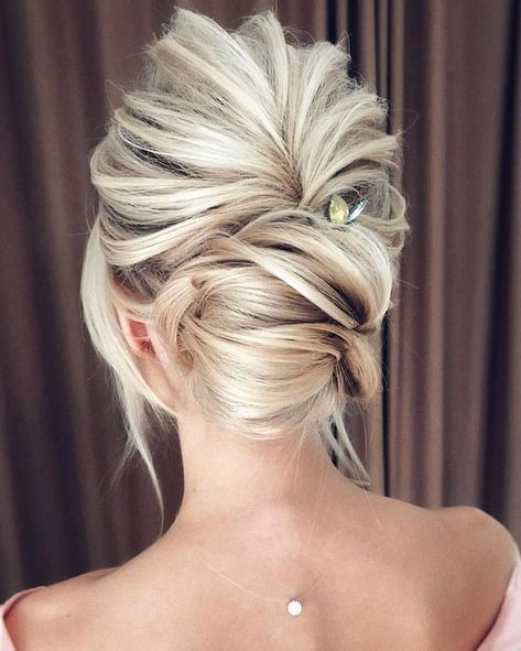 Bridal Hairstyles Ideas And Inspiration Blonde Bride Hairstyles Bride Updo Romantic Bri With Images Hairstyles For Thin Hair Wedding Hairstyles Updo Bride Hairstyles