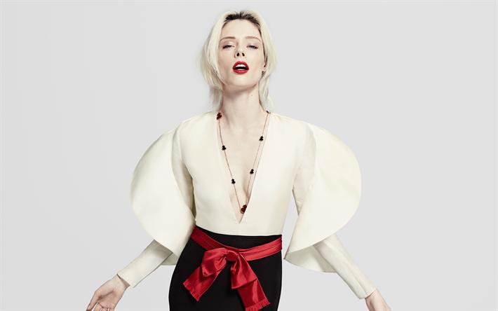 Lataa kuva Coco Rocha, supermalleja, kauneus, Mikhaila Rocha, blondi, kanadan malli
