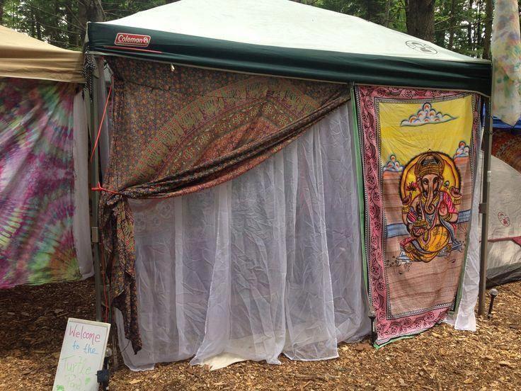 my festival campsite festival setup canopy #festival #musicfestival #camping #boho #campsite #glamping #festivaltentsetupcanopies #luxurycampingtents #gypsysetup