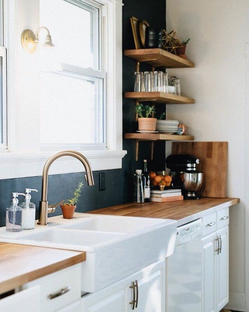 Apartment Therapy On Instagram Not Living In Your Forever Kitchen But Still Want To Make Some Change In 2020 Diy Kitchen Remodel Kitchen Renovation Kitchen Design
