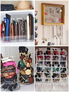 organiser son placard en d tournant des objets pinterest accessoires bijoux rangement et vernis. Black Bedroom Furniture Sets. Home Design Ideas