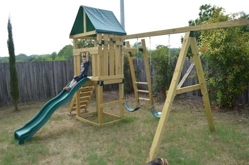 Swing N Slide Playsets Hawk S Nest Play Set Pb 9210 At The Home