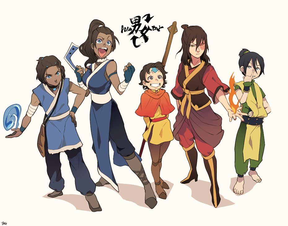 Avatar The Last Airbender Characters As Adults Avatar gender bender  ...
