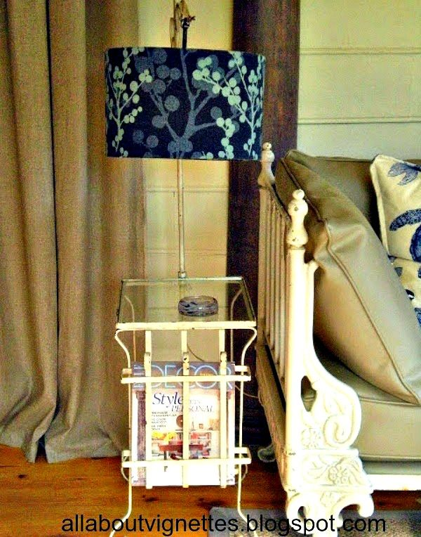 All About Vignettes: Screened Porch Before and After