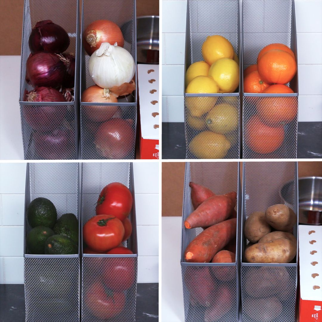 Organizing Your Kitchen With File Folders Is So Easy And Satisfying #kitchenorganizationdiy
