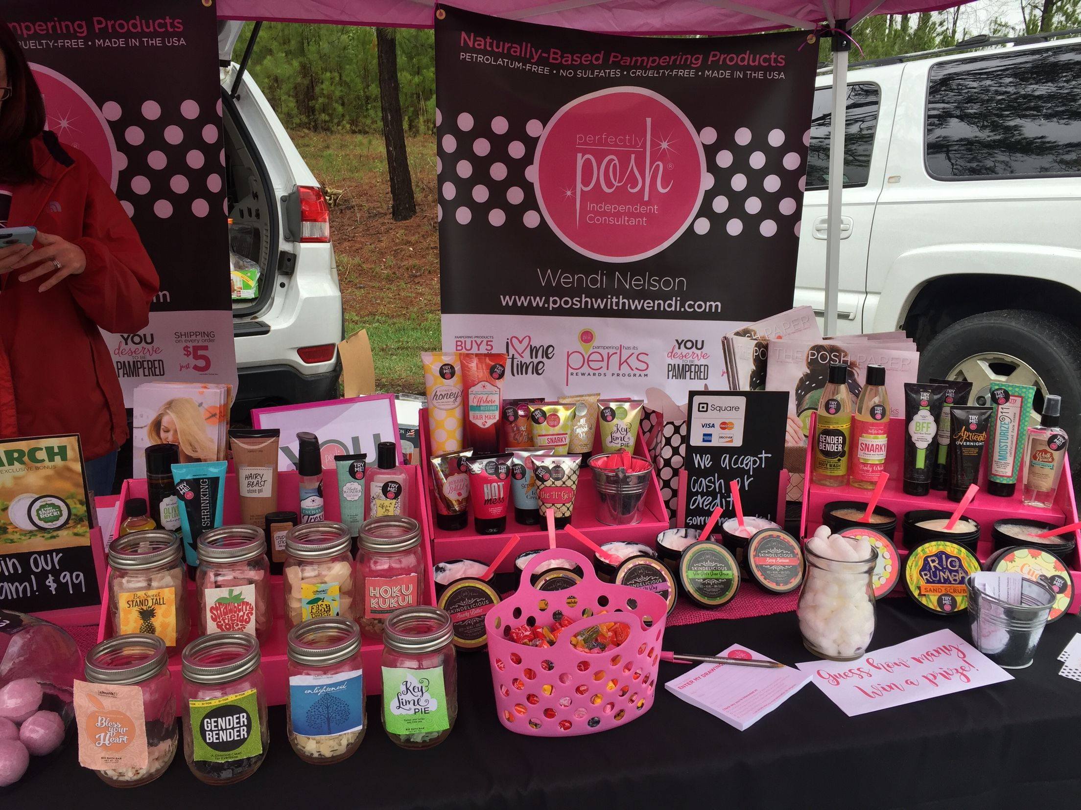 114 best perfectly posh display ideas images on pinterest my first vendor event with posh had a lot of fun have you tried