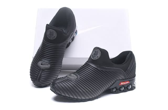 Cheap Nike Shox 50 Cent Mens black red shoes|Wholesale Nike Shox shoes |Discount