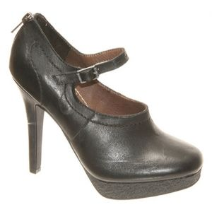 Womens Bacio 61 Violino High Heels Black Leather - ONLY $149.95.