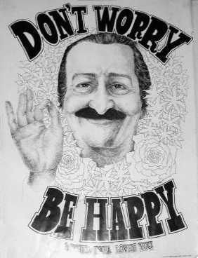 Image result for meher baba be happy