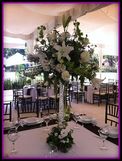 hermosos diseos de arreglos florales grandes para boda como