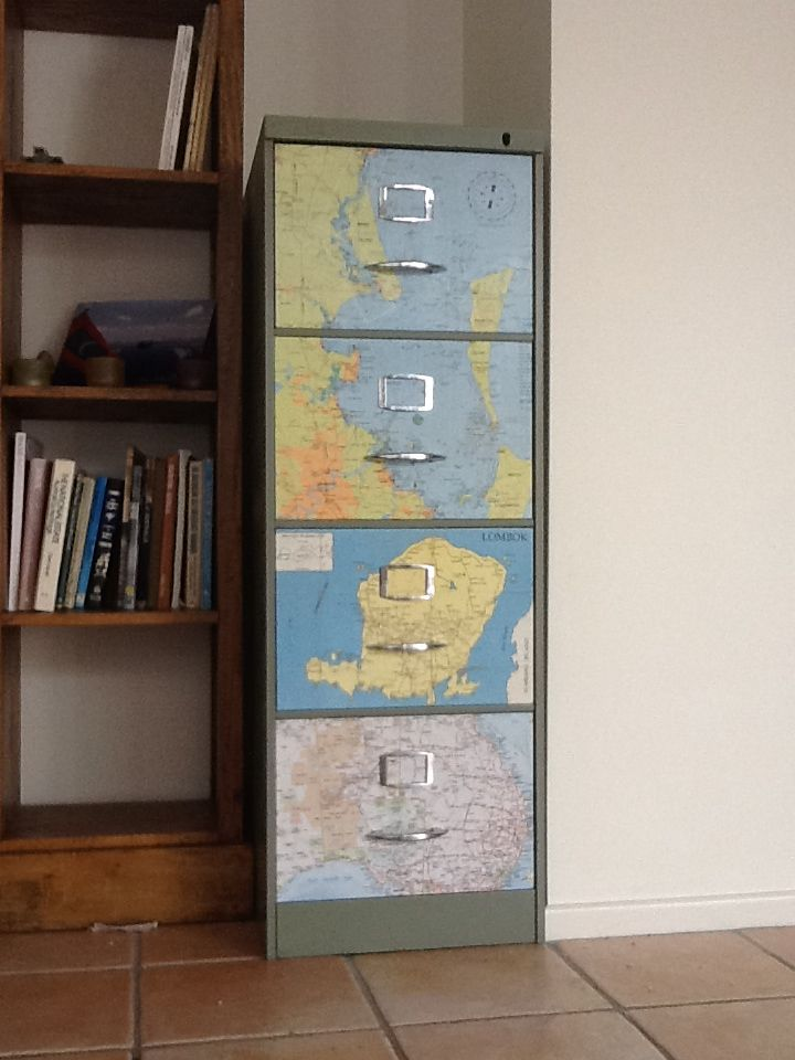 Upcycled file cabinets inspirational Upcycled metal filing cabinet