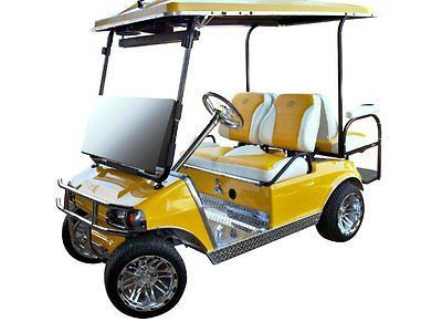 Club Car New Style DS Golf Cart Custom Two Toned Suite / Bucket ...