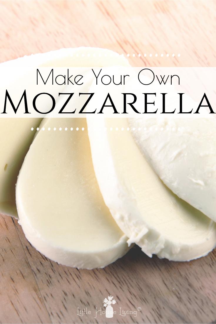 Homemade Mozzarella Cheese Recipe Cheese Making Recipes Homemade Mozzarella Cheese Homemade Cheese