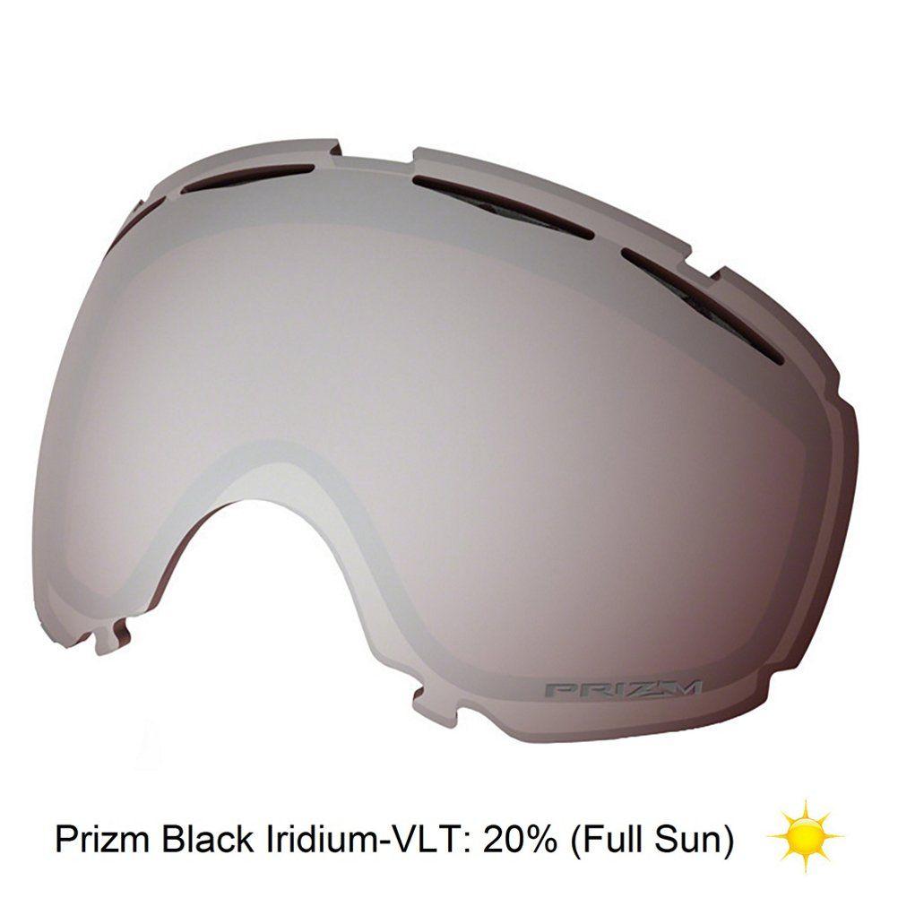 3a565d359630 Oakley Canopy Goggle Replacement Lens 2017 - Prizm Black Iridium Full Sun.  Offers 100