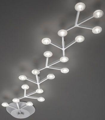 Plafonnier LED NET linéaire- L 125 cm Blanc - Artemide - led deckenlampen küche