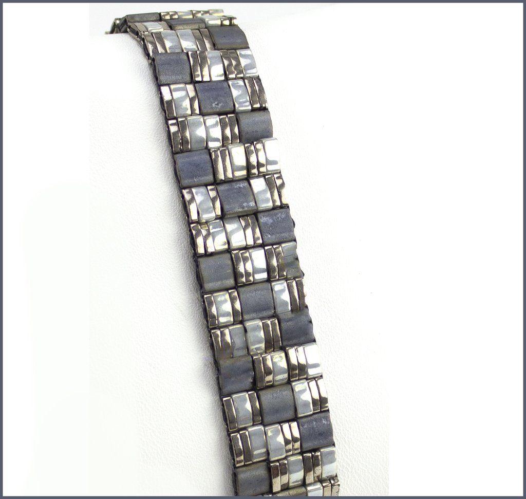 Geometrical Band Beadweaving Bracelet Kit – Beads Gone Wild
