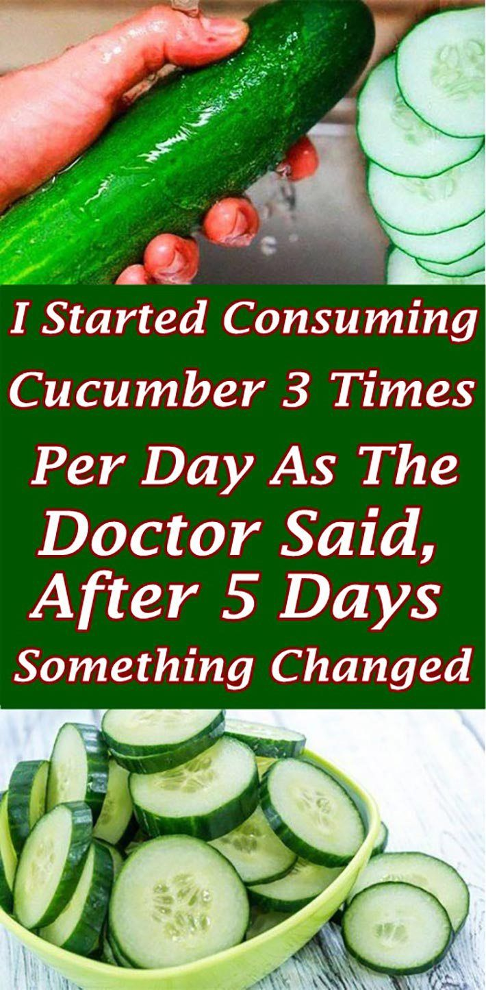 I Started Consuming Cucumber 3 Times Per Day As The Doctor Said, After 5 Days Something Changed  #li...