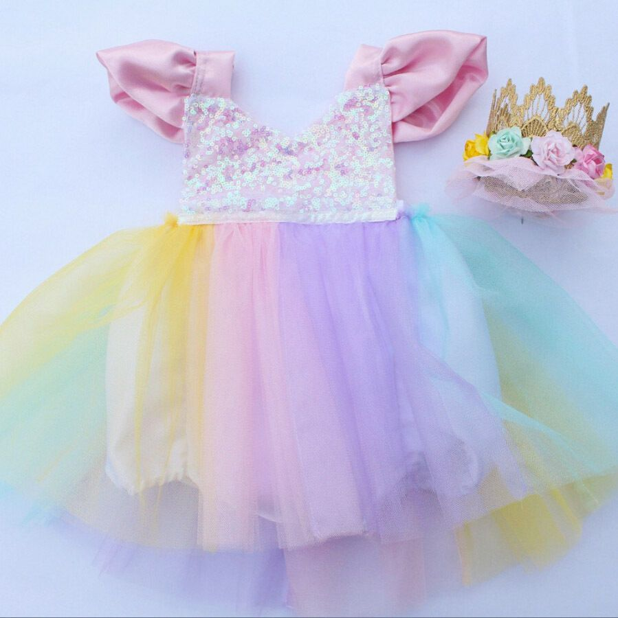 303dc474dbe8 Newest Fashion Baby Kids Girls Lace Tutu Romper Dress ! Size Dress Length  Bust 2 Romper Length Age. Main Color  Show as the pictures. New in Fashion.