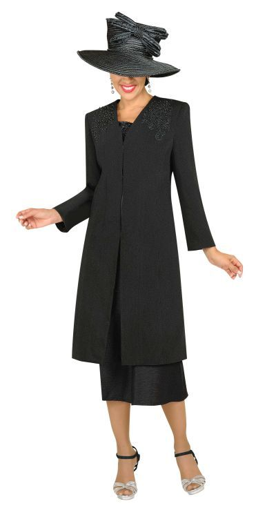 Ladies Suits with Long Jackets | GMI G3813 Womens Church Suit with ...