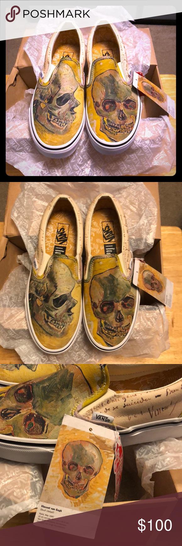 NWT Vans x Vincent Van Gogh Brand new with tags Vans x Vincent Van Gogh  Skull 3f8a353dd