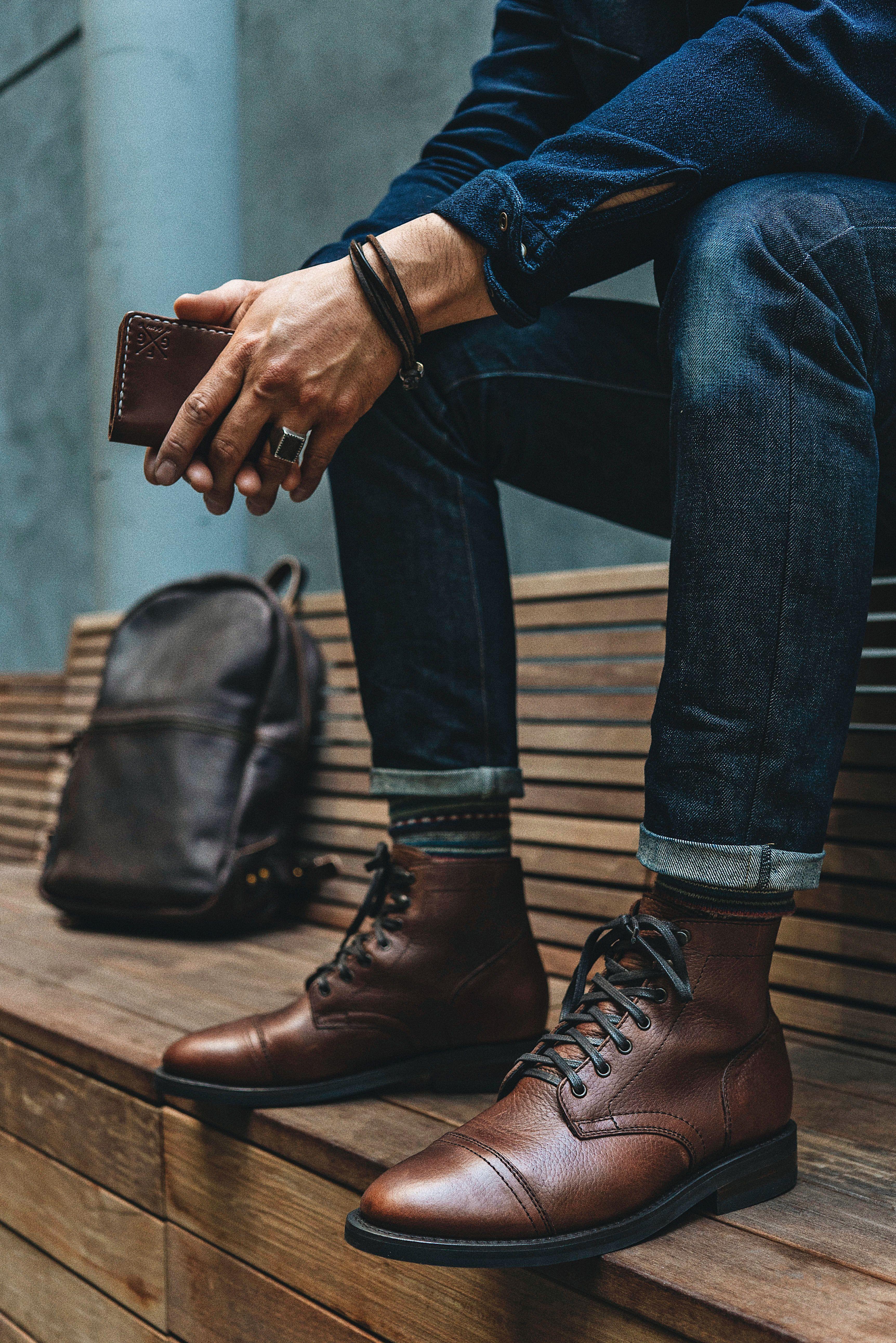 Pin on Men's Captain Boots | Thursday