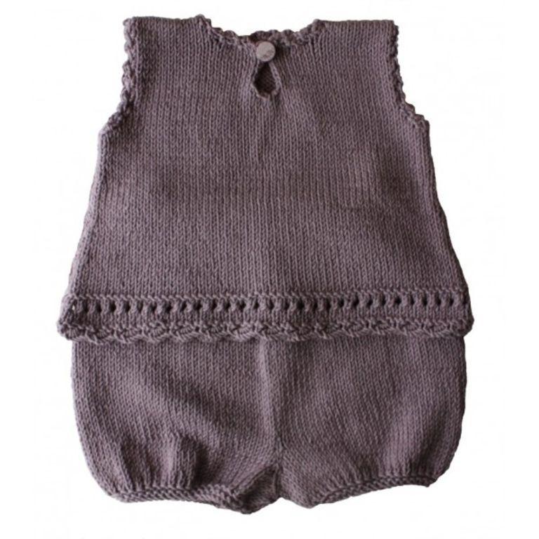 Modèle à tricoter Kidstricots Ensemble bébé KEIKI 3/6/12/18 mois ...