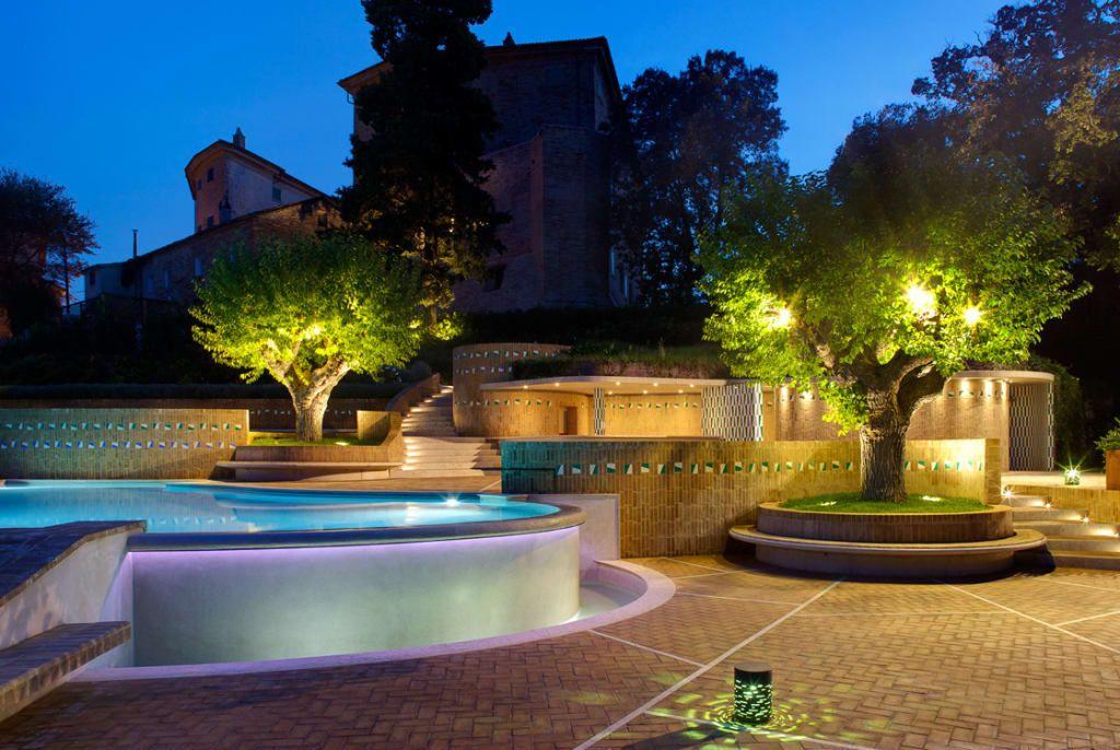 La piscina del castello di monterado recupero del