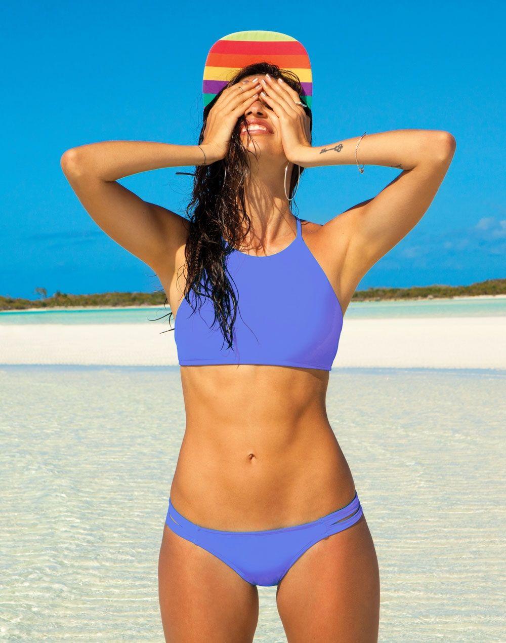 1fc8093a8e6ea BODY GLOVE Smoothies Elena High Neck Bikini Top