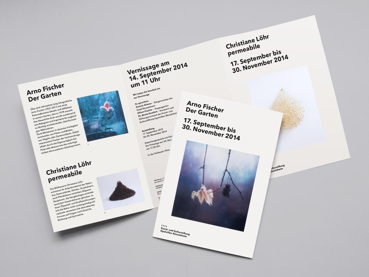 Kunst Und Kulturstiftung Opelvillen Russelsheim Visual Communication Visual Design Visual