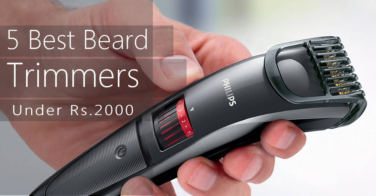Top 5 Best Selling Electric Beard Trimmer Shaver Online India