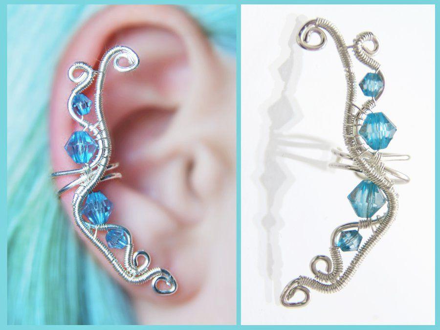 Ocean EAR CUFF by Charming-Wonders on DeviantArt