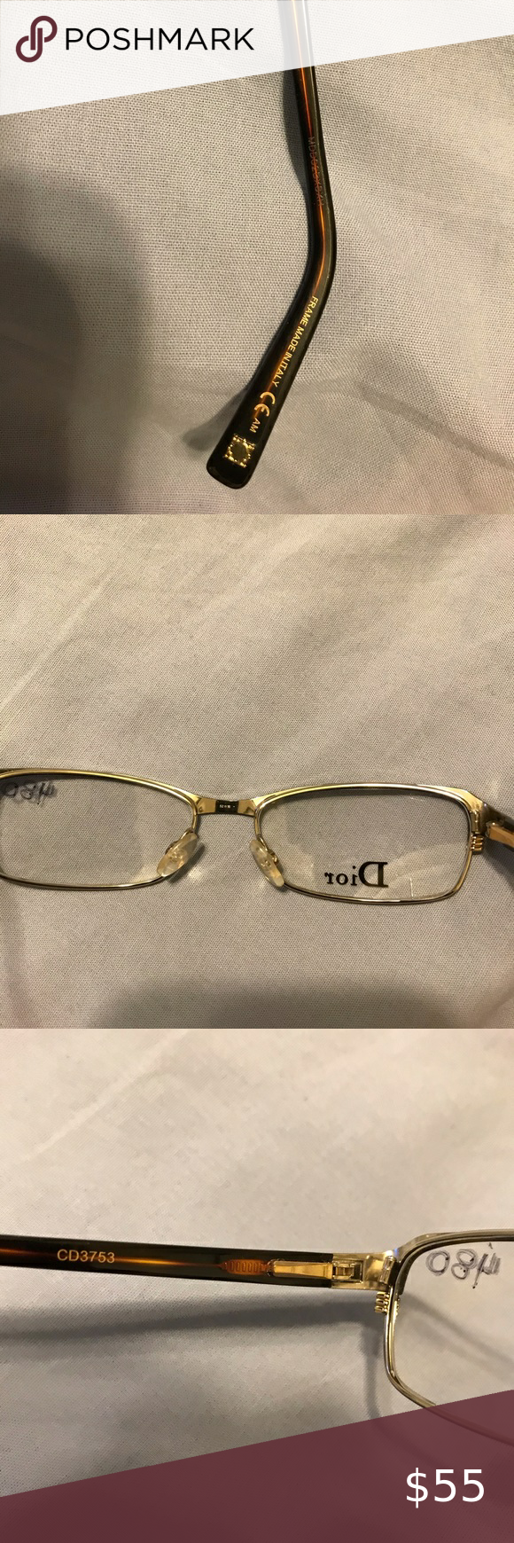 Designer EyeGlasses💯 BrandNew NeverWorn ready for your own prescription from your Optometrist🤓🤓🤓#DesignerFrames #ChristianDior #Dior🤓🤓🤓💯 Dior Accessories