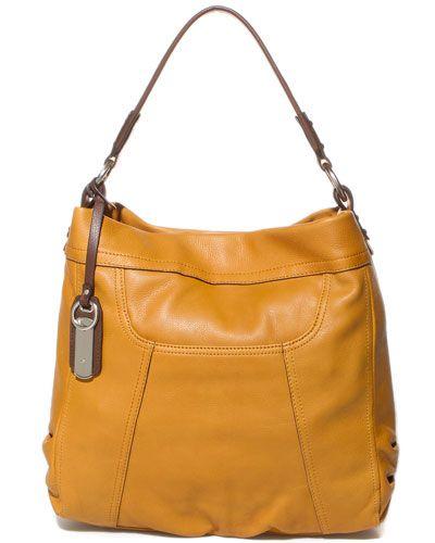 B Makowsky Bridget Leather Hobo