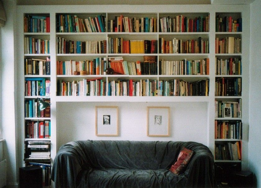 wall bookshelf ideas