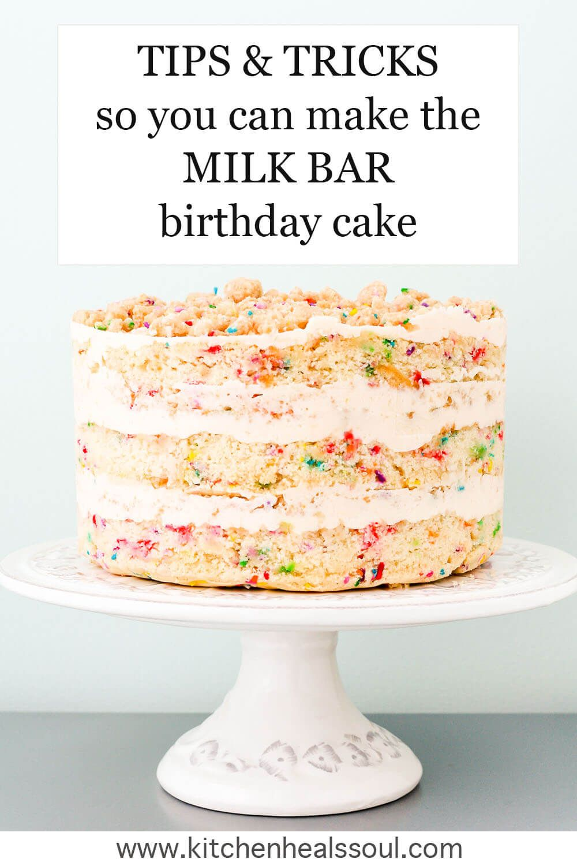 Homemade Milk Bar Birthday Cake Recipe Recipe In 2020 Milk Bar Birthday Cake Milk Bar Recipes Momofuku Milk Bar
