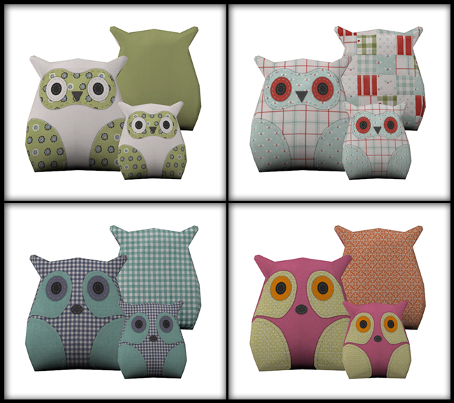 Owl cushions download