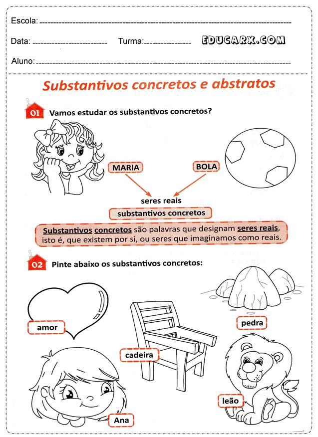 Substantivos abstratos